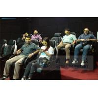 Quality Motion 6d Movie Theater With 3 DOF Electronic Dynamic System Vibration Chair for sale