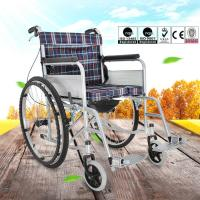 Quality Easy Operation Lightweight Manual Wheelchair For Disabled People OEM Available for sale