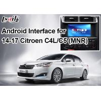 Quality Android Navigation Video Interface for Citroen , Google Market / Google Map / WiFi / 3G for sale