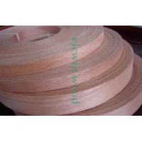 Quality Natural Okoume Wood Veneer Edge Banding Tape/Rolls for sale