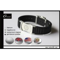 Quality Silicone Magnetic Titanium Bracelets , Adjustable Watch Clasp for sale