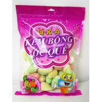 Quality Strawberry Marshmallow Candy , 3.5g Ice Cream Shaped Fruity Marshmallow Snacks for sale
