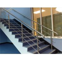 Quality 316 304 Stainless Steel Stair Railing 12.7mm Rod Diameter Indoor / Outdoor for sale