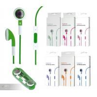 Quality OEM Green Earphone Replacement with Microphone for IPhone for sale