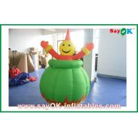 Quality Decoration Inflatable Smiling Face Cartoon Character /  Mascot for sale