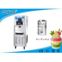 Buy cheap Floor Standing Ice Cream Machine With Compressor , Restaurant Ice Cream Maker from wholesalers