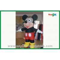 Quality Outdoor Advertising Black Inflatable Mouse Inflatable Cartoon Characters for sale