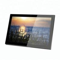 China Android OS Kiosk Screen 10 Inch Customized Wall Mount Touch Tablet POE With RJ45 LAN WIFI on sale