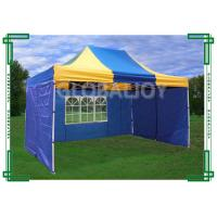Quality Iron / Aluminum Frames Gazebo Replacement Canopy 3 x 4.5m With 3 Sidewalls for sale
