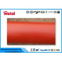Quality Seamless Plastic Coated Steel Pipe API 5L GRB / A106 GRB EPOXI 300 Microns for sale