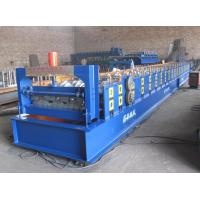 China Galvanized Metal Deck Roll Forming Machine 4KW Max Coil Width1000mm on sale