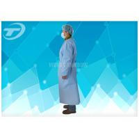 Quality Customized Green Surgical Disposable Isolation Gowns Sterile Long Sleeve for sale
