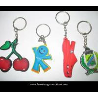 Quality Cartoon Design Cheap 3D Soft PVC Keychain for Promotional Merchandise for sale