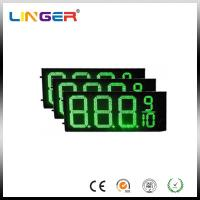 Quality IP54 Rear Waterproof RF Controller LED Gas Station Price Signs 12 Inch for sale