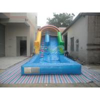 Quality Inflatable Water Slide With Pool for sale