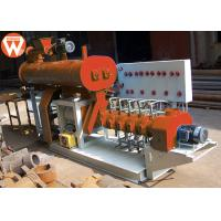 Quality 800KG/H 55KW Fish Feed Making Machine , Steel Low Noise Fish Pellet Extruder for sale