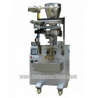 Quality Spice bag filling and packaging machine, OMRON PLC, OMRON touch screen control for sale