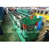 Quality Roof Ridge Cap Cold Roll Forming Machine 350H Steel With PLC Control for sale