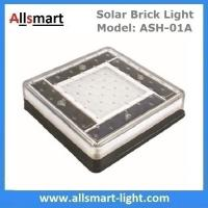 Quality 6x6 inch Solar Paver Lights Patio Solar Brick Lights Garden Landscaping Solar Underground Inground Lights for sale
