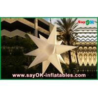 Quality Custom Holiday Inflatable Lighting Decoration , Blow Up Stars for sale