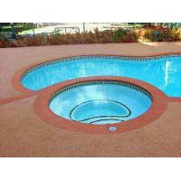 Quality Environment Friendly Rubber Flooring Around Swimming Pool Heat Resistance for sale
