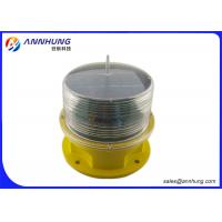 Quality ICAO Standard Low-intensity LED Aircraft Warning Light with Built-in Solar Panel for sale