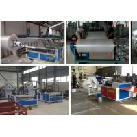 Quality High Efficiency Band Strapping Machine / PE Air Cushion Film Production Line for sale