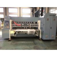 Quality Industrial Corrugated Cardboard Production Line Flexo Printing And Die Cutting Machine for sale