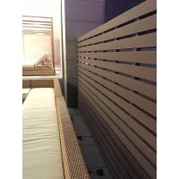 Quality Swimming Pool Building with WPC decking and WPC wall panel for sale
