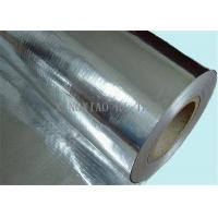 Buy Flame-resistant Reflective Aluminum Foil Glassfiber Mesh with Kraft Paper at wholesale prices