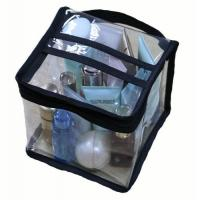 Quality Multi Functional Household Storage Bags Square Shaped With Clear PVC Vinyl Material for sale
