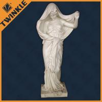 Buy cheap Marble Beautiful Nude Girl Natural Stone Sculptures / Marble Nude Girl Statue from wholesalers