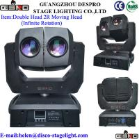 Quality Double- 2R 132W LED Moving Head Beam Light for sale