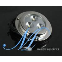 Quality 3X3W boat underwater light, fishing boat LED lights, wakeboard LED light for sale