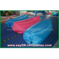 Quality Nylon Cloth Pop up Sofa Air Couch Beach Custom Inflatable Products 200cm *90cm for sale