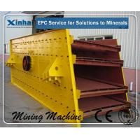 Quality Circular Vibrating Screen , Double Deck Vibrating Screening Equipment Efficient for sale