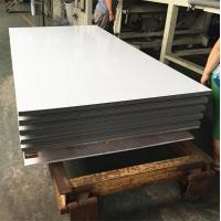 Quality White Aluminium Composite Sheet Brushed Surface For Building Exterior Wall for sale