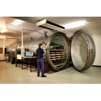 Quality High temperature and pressure Wood Autoclave Pressure For Automotive Industrial By PLC Controller for sale