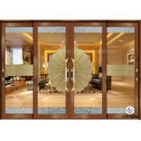 Quality Security Aluminum Window And Door With Double Tempered Glass 4mm for sale