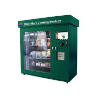 China High Capacity Network Vending Machine , Banknote Acceptor and Credit Card Reader on sale