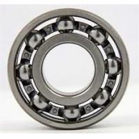 Quality High Speed Spherical Roller Bearings 6010 Open Type Steel Cage , Low Friction Coefficient for sale