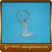 Quality high quality blue color letter shaped bottle charm for sale