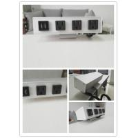 Quality Desk Mounted Power Sockets With 3 Outlets And 2 USB Ports For Laptop Mobile Phone for sale