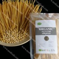 China Organic vegetarian and low fat soybean linguine pasta on sale
