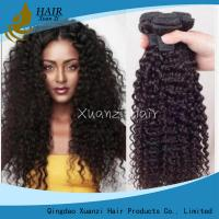 Quality Brazilian Kinky Curly 100% Malaysian Virgin Hair Extensions 8  -  32Inches for sale