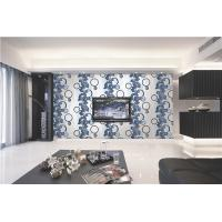 Quality 70cm width Top quality waterproof mould proof modern styles PVC vinyl wallpaper for sale