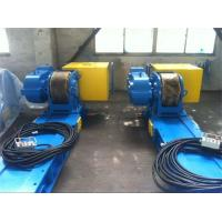 Quality Automatic 80T Conventional Welding Rotator With Double Motors Siemens Control for sale