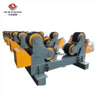 Quality 60T Self Adjustment Pipe Welding Rollers With Moving Wheels , 60T Tanks Turning Rolls for sale