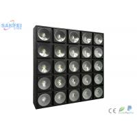 Quality White LED Matrix Lights For Stage Backlight 25PCS X 10W Cree Lamp for sale