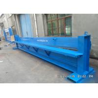 Quality Steel Sheet Hydraulic Cutting Machine 1mm PPGI Galvanized Metal Color for sale